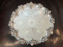 Mrs Thomas Andrews/Harland Silver Drinks Tray